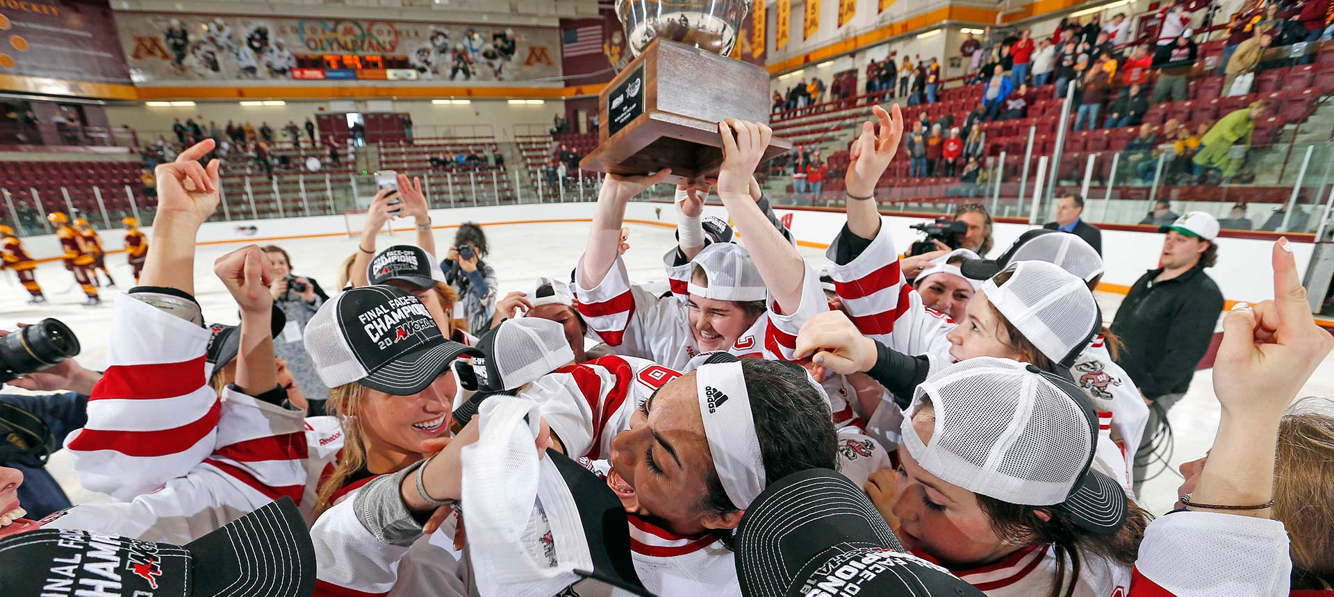 Women's Hockey made its 8th Frozen Four appearance in the last 10 years.