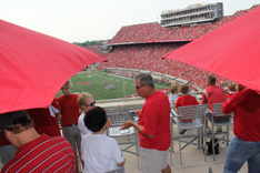 Camp Randall Stadium Terrace Details