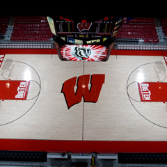 Kohl Center Basketball Floor Replacement